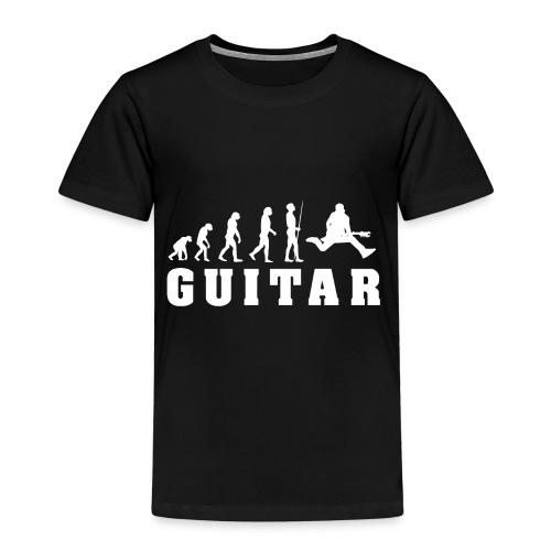 Evolution Guitar - Kinder Premium T-Shirt