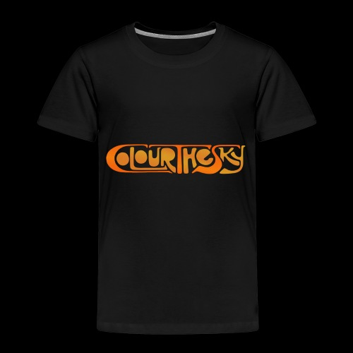 Colour The Sky Logo - Kinder Premium T-Shirt