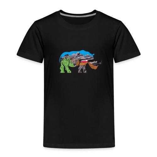 Russell Rhino Adventure - Kids' Premium T-Shirt