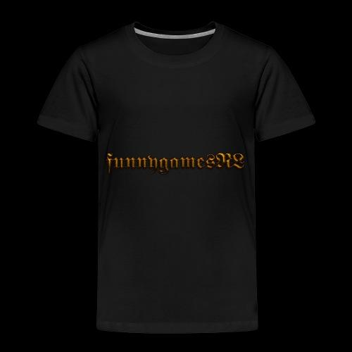 Cool Text funnygamesNL 276368389500691 - Kinderen Premium T-shirt