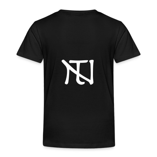 White Logo - Premium-T-shirt barn