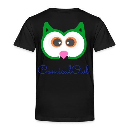 Cartoon Owl - Kids' Premium T-Shirt