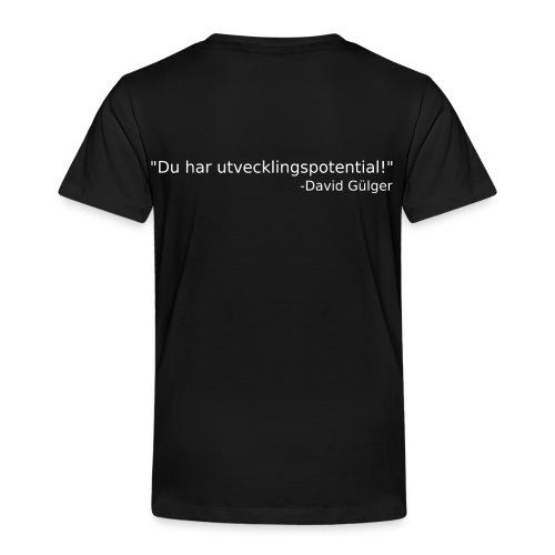 Ju jutsu kai förslag 1 version 1 vit text - Premium-T-shirt barn