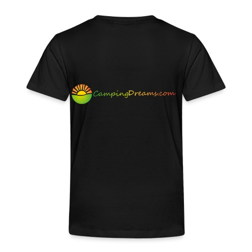 CampingDreams - Kinder Premium T-Shirt