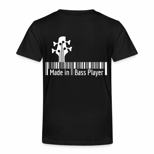 Made in Bass Player barcode - T-shirt Premium Enfant