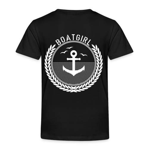 BoatGirl - Anchor - Kinder Premium T-Shirt