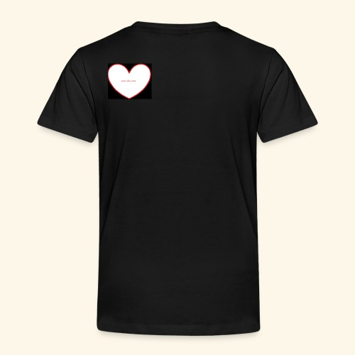 live, life, love - Kinderen Premium T-shirt