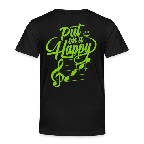 happy face colorize - Kinder Premium T-Shirt