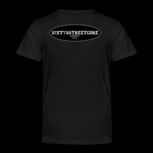 68FL:OZ - sixty8streetcore Rückseite - Kinder Premium T-Shirt