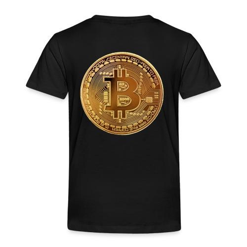 bitcoin Gold Pièce - T-shirt Premium Enfant