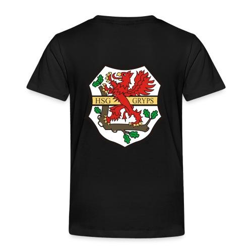 HSG Logo Rücken groß - Kinder Premium T-Shirt