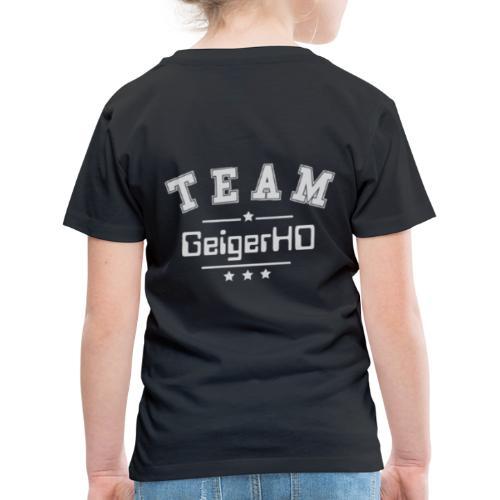 TEAM GeigerHD - Kinder Premium T-Shirt