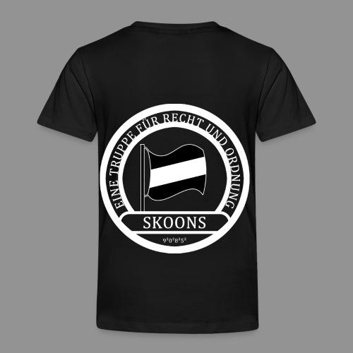 Eine Truppe für Recht und Ordnung - SKOONS - Kinder Premium T-Shirt