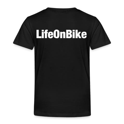 LifeOnBike - Kinder Premium T-Shirt