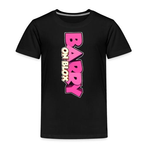 Barry On Blox Merch - Kids' Premium T-Shirt