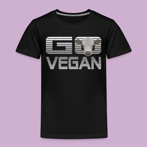GO VEGAN KALB - Kinder Premium T-Shirt