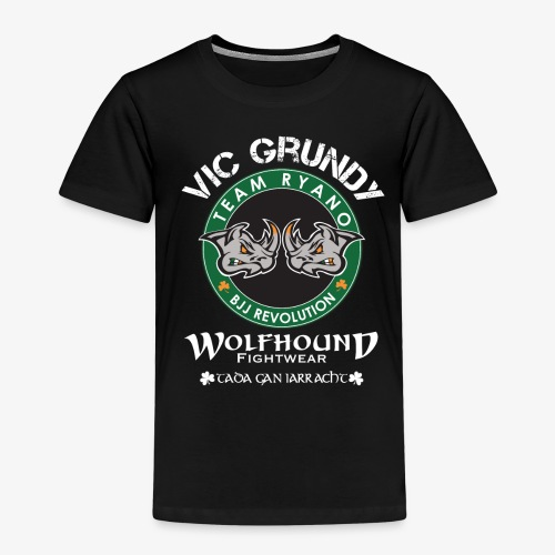 vic grundy back white png - Kids' Premium T-Shirt