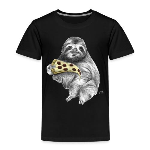 Slot Eating Pizza - Kids' Premium T-Shirt