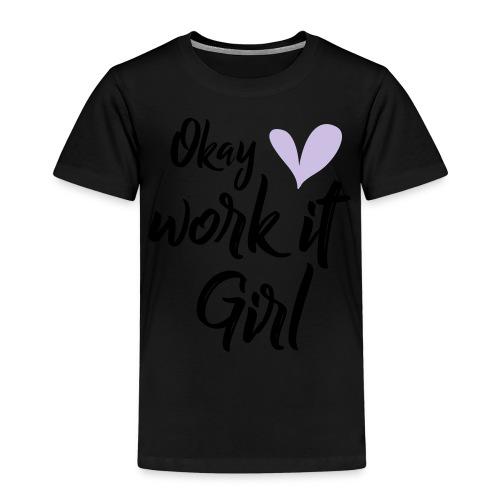 Work it Girl - Kinderen Premium T-shirt