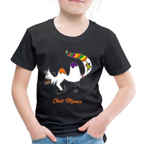 Chat Monux - T-shirt Premium Enfant