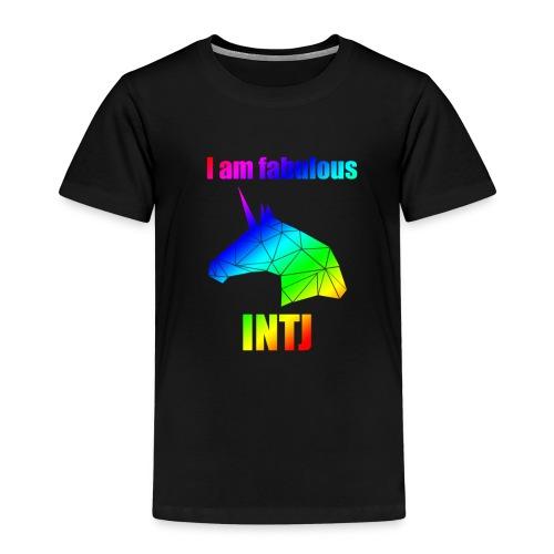 INTJ - Koszulka dziecięca Premium