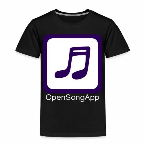 OpenSongApp Square Text - Kids' Premium T-Shirt