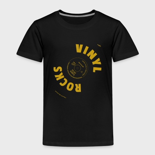 T-Record - Vinyl Rocks! - Kinderen Premium T-shirt