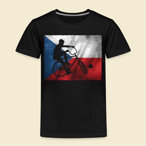 Radball | Flagge Tschechien - Kinder Premium T-Shirt