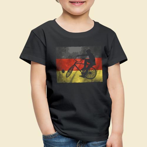 Radball | Flagge Deutschland - Kinder Premium T-Shirt
