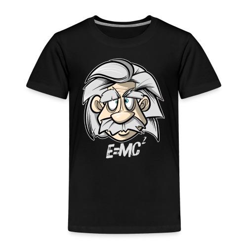 Albert Einstein E=MC2 - Kinder Premium T-Shirt
