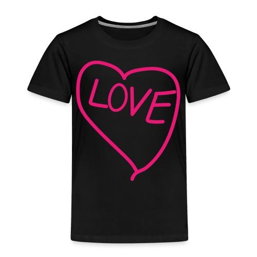 Herz - Kinder Premium T-Shirt