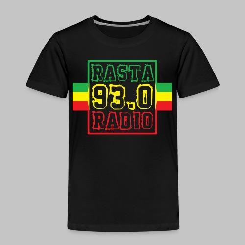 Rasta Radio Reggae Rastafari Logo - Kinder Premium T-Shirt