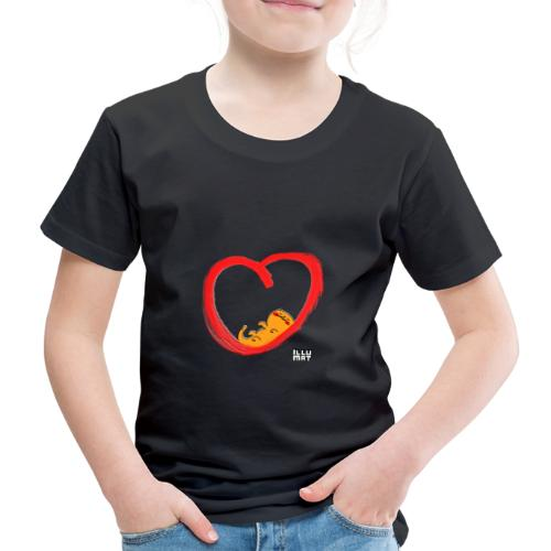 LYD 0003 04 KittyLove - Kinder Premium T-Shirt