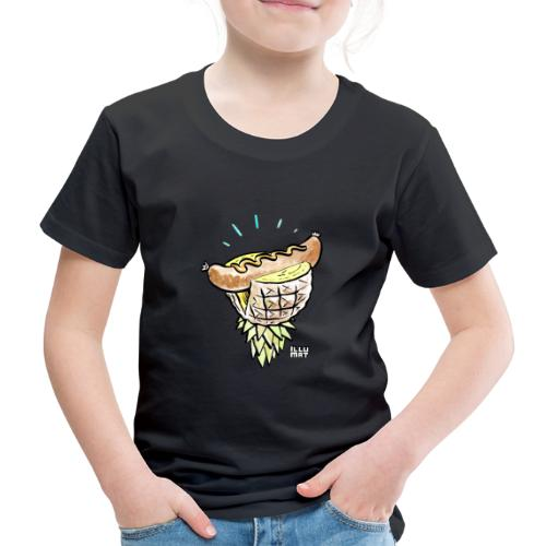 Stef 0005 00 tropical bratwurst - Kinder Premium T-Shirt