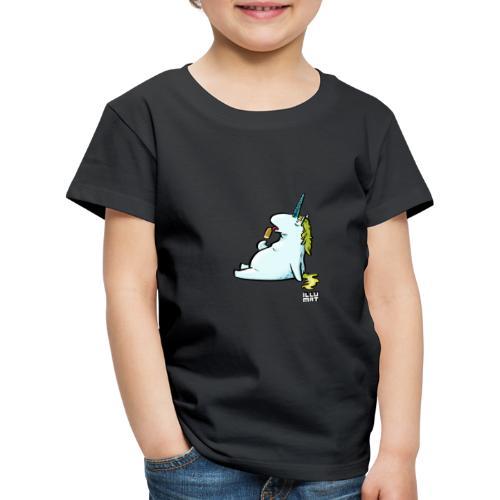 STE 0006 00 Eis Einhorn - Kinder Premium T-Shirt