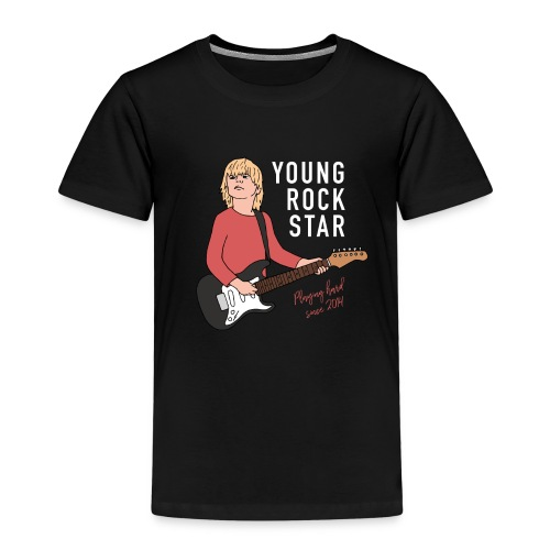 Young Rock Star - Børne premium T-shirt