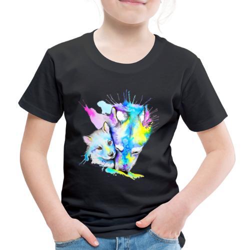 Loups Wolf - T-shirt Premium Enfant