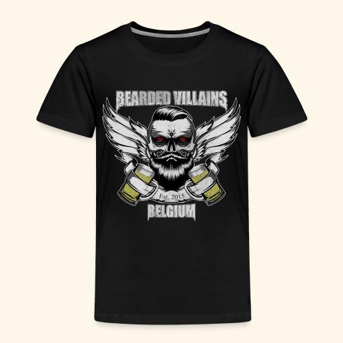 Bearded Villains Belgium - Kids' Premium T-Shirt