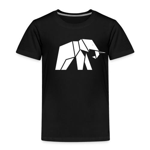 Schönes Elefanten Design für Elefanten Fans - Kinder Premium T-Shirt