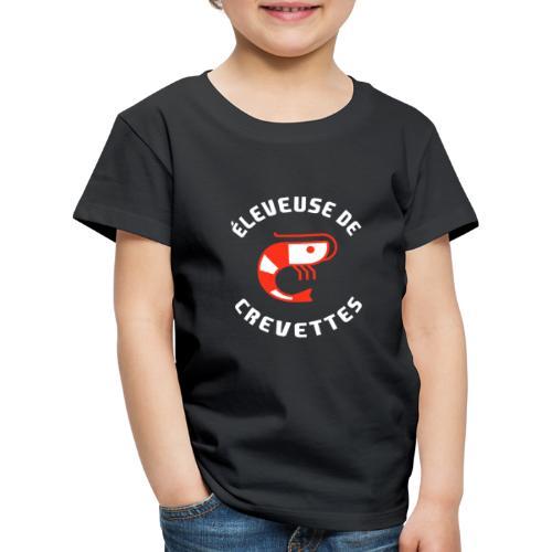 ÉLEVEUSE DE CREVETTES CRS - T-shirt Premium Enfant