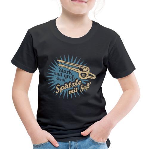 Spätzle mit Soß - Kinder Premium T-Shirt