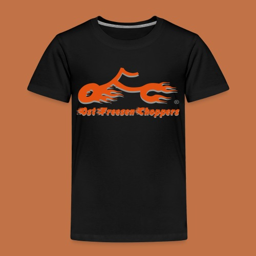 OFC Logo orangegrau 1 0 - Kinder Premium T-Shirt