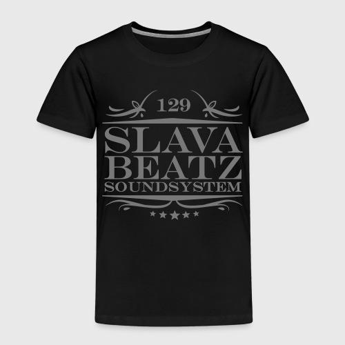 Slava Beatz Logo - Kinder Premium T-Shirt