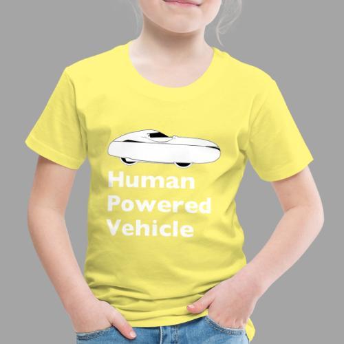 Quest Human Powered Vehicle 2 white - Lasten premium t-paita