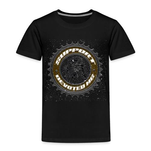 Sprocket Support - Premium T-skjorte for barn