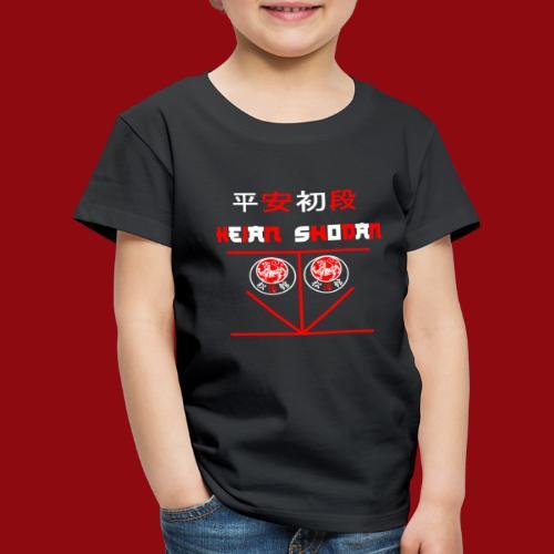 Heian Shodan - Shotokan Kata - Karate - Japan - Kinder Premium T-Shirt