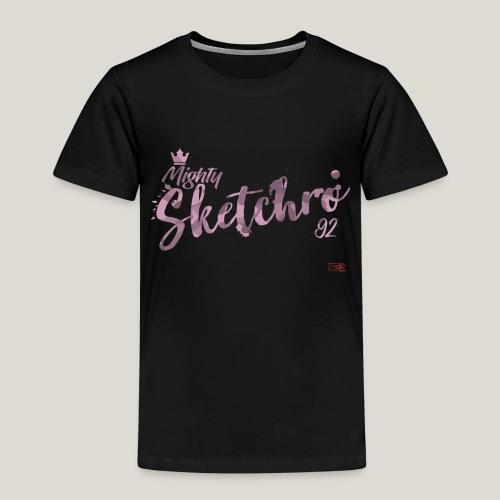 mighty sketchro pink camo - Kids' Premium T-Shirt