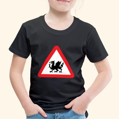 Welsh Dragon - Kids' Premium T-Shirt
