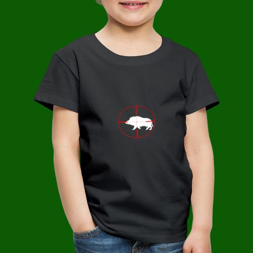 Boar Shooter - Premium-T-shirt barn