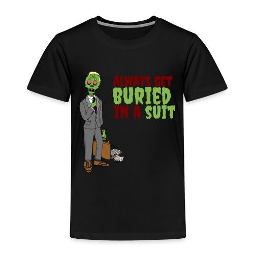 Buried in Suit - Kids' Premium T-Shirt